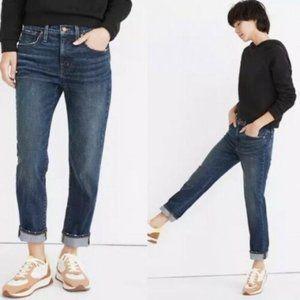 Madewell Tomboy Straight Jeans Medium Wash Size 26